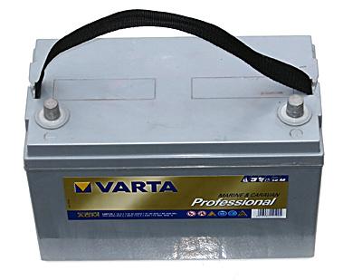 AGM Varta Akku für Caravan und Marine