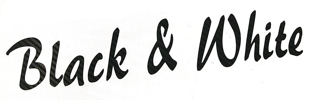 black-and-white-schriftzug