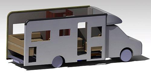 Planung Ihres Reisemobils am Computer