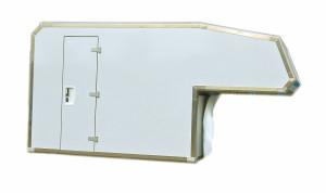 Absetzbare Kabine mit Aluminium Kanten