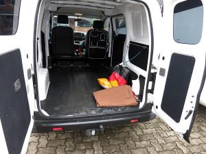 Anlieferungszustand Nissan NV200